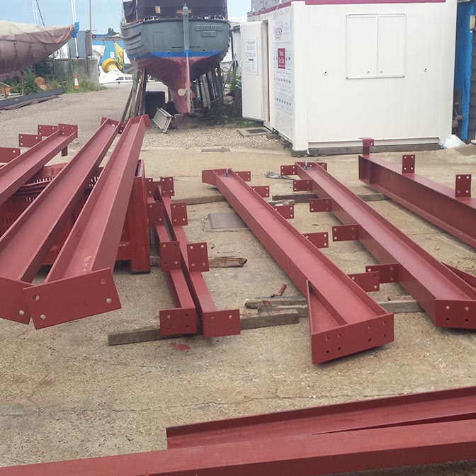 Architectural Railings being manufactured out of Tube Steel