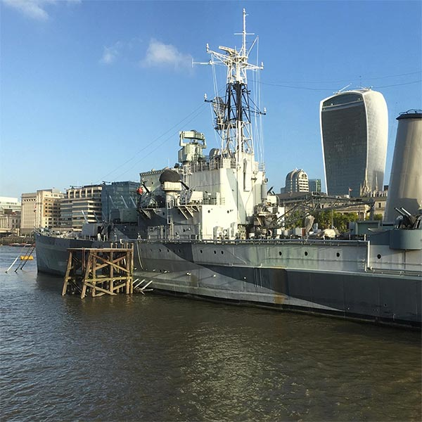 HMS Belfast Conservation London